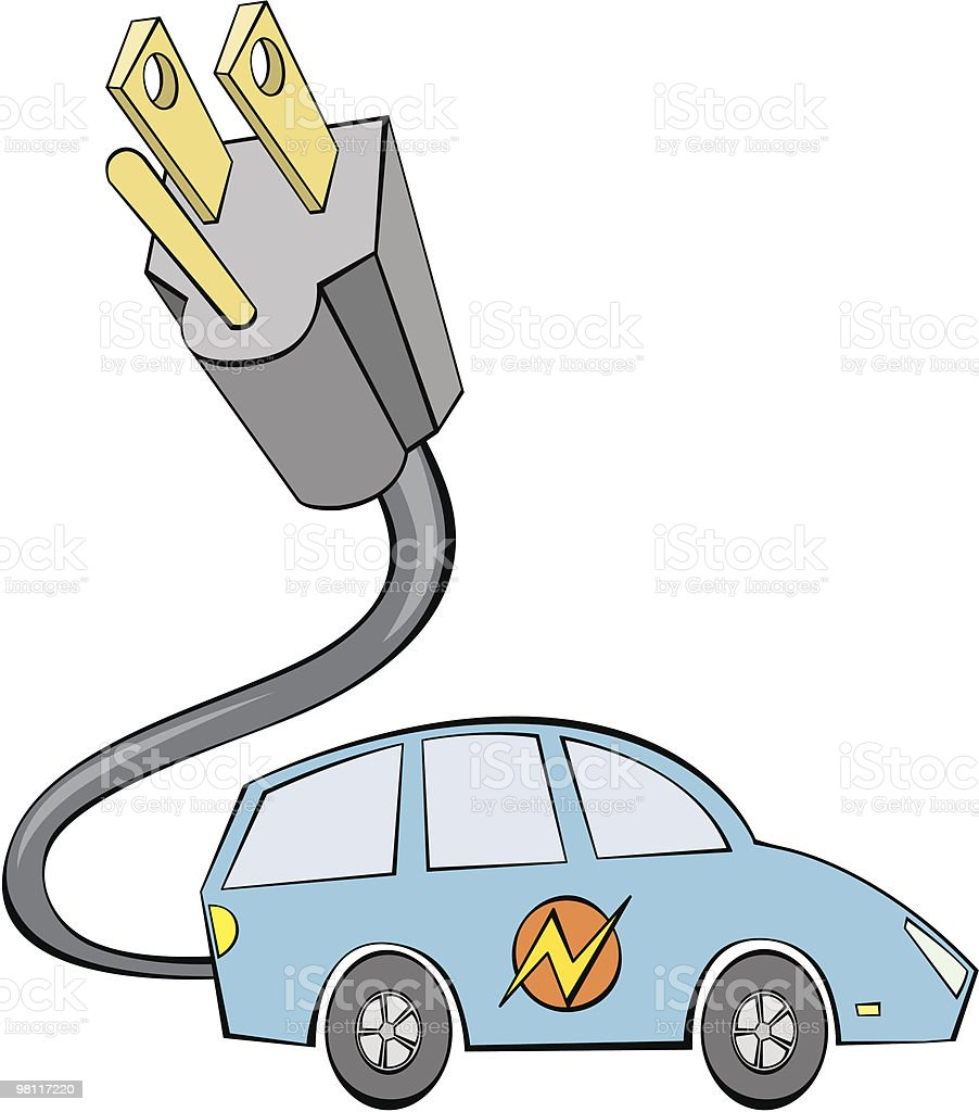 Electric Car royalty-free electric car stock vector art & more images of alternative energy