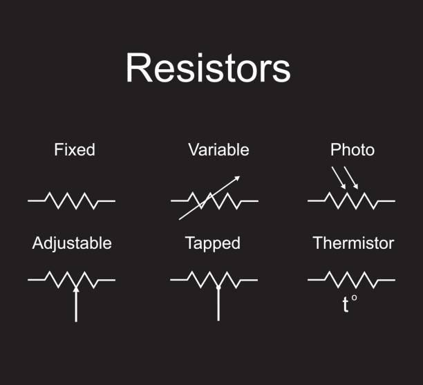 Elektrischer Widerstand Vektorgrafiken und Illustrationen - iStock