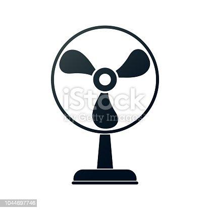 electric fan. eps 10 vector file