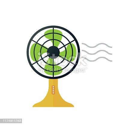 istock electric fan 1174911253