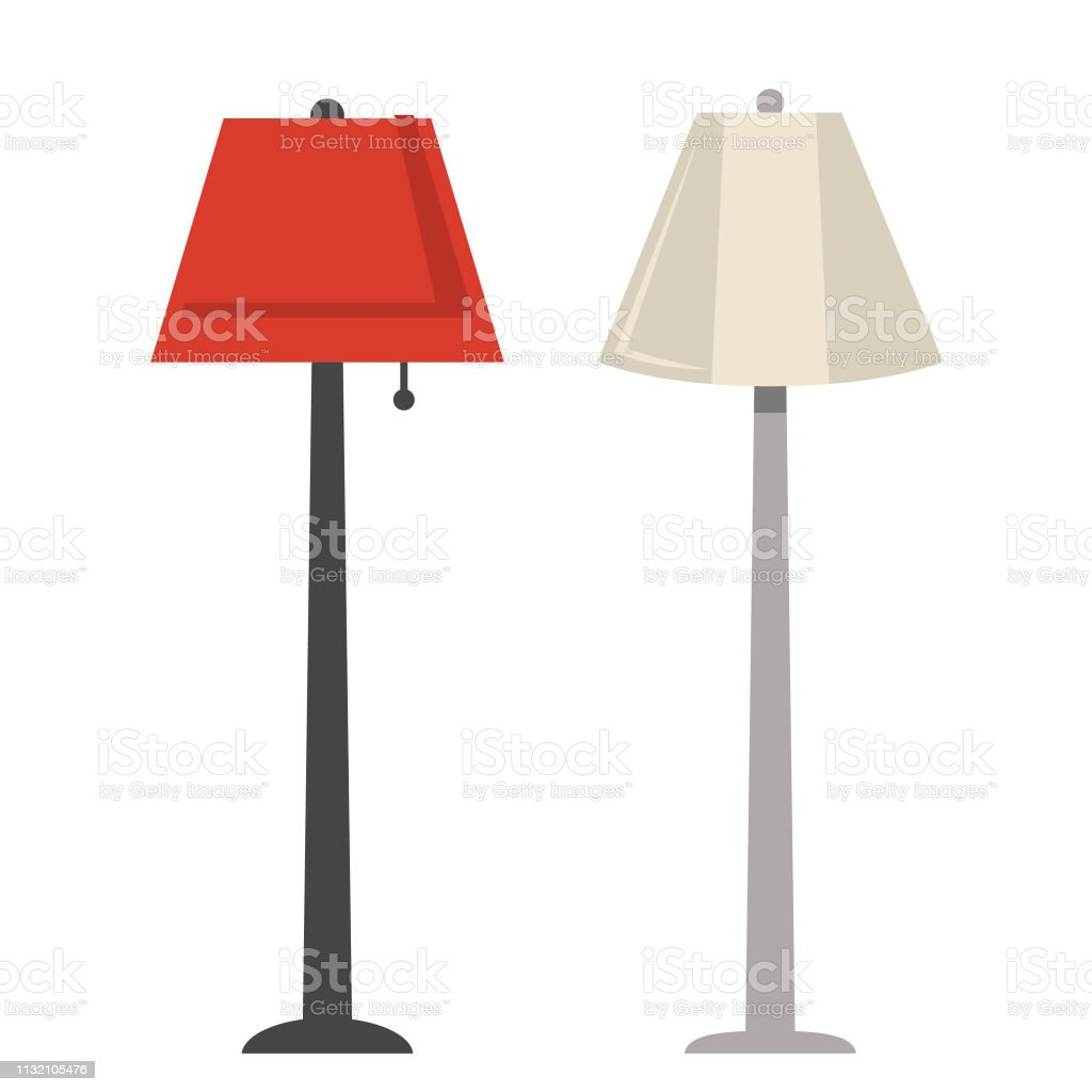 Electric Floor Lamps Stock Illustration Download Image Now Istock