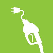 istock Electric Gas Pump 484846402