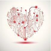 istock Electric Heart 154284764