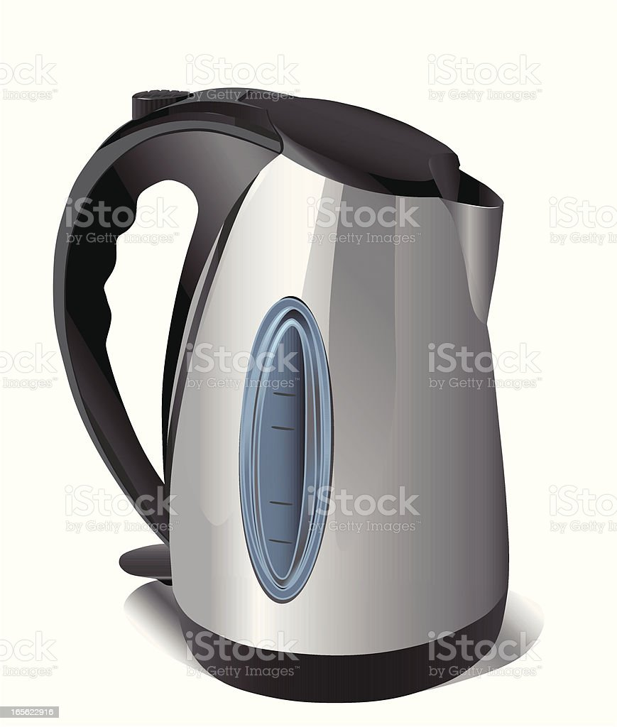 Electric kettle. royalty-free stock vector art