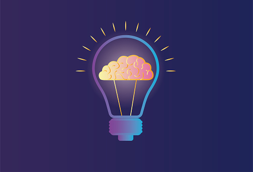 Electric light and brain