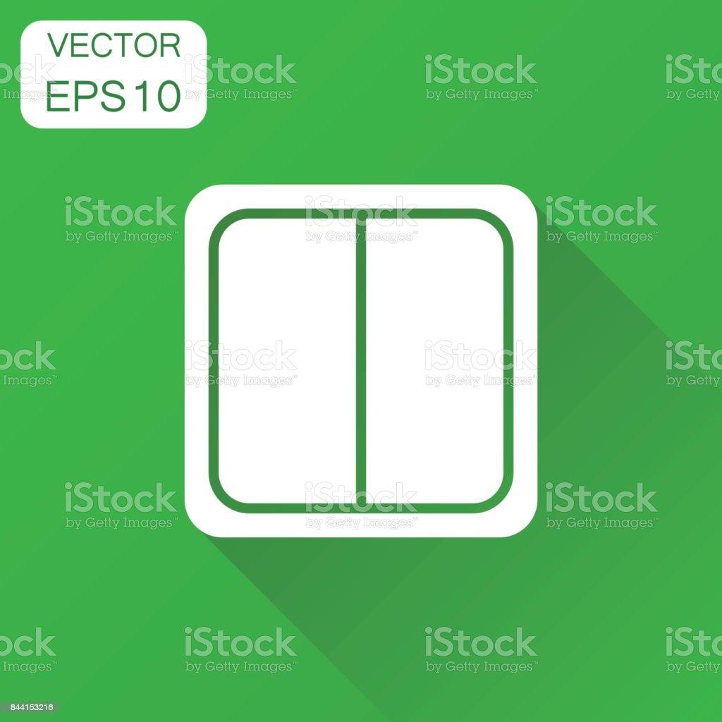 Elektrisches Licht Schalter Symbol Business Konzept Elektrischen ...