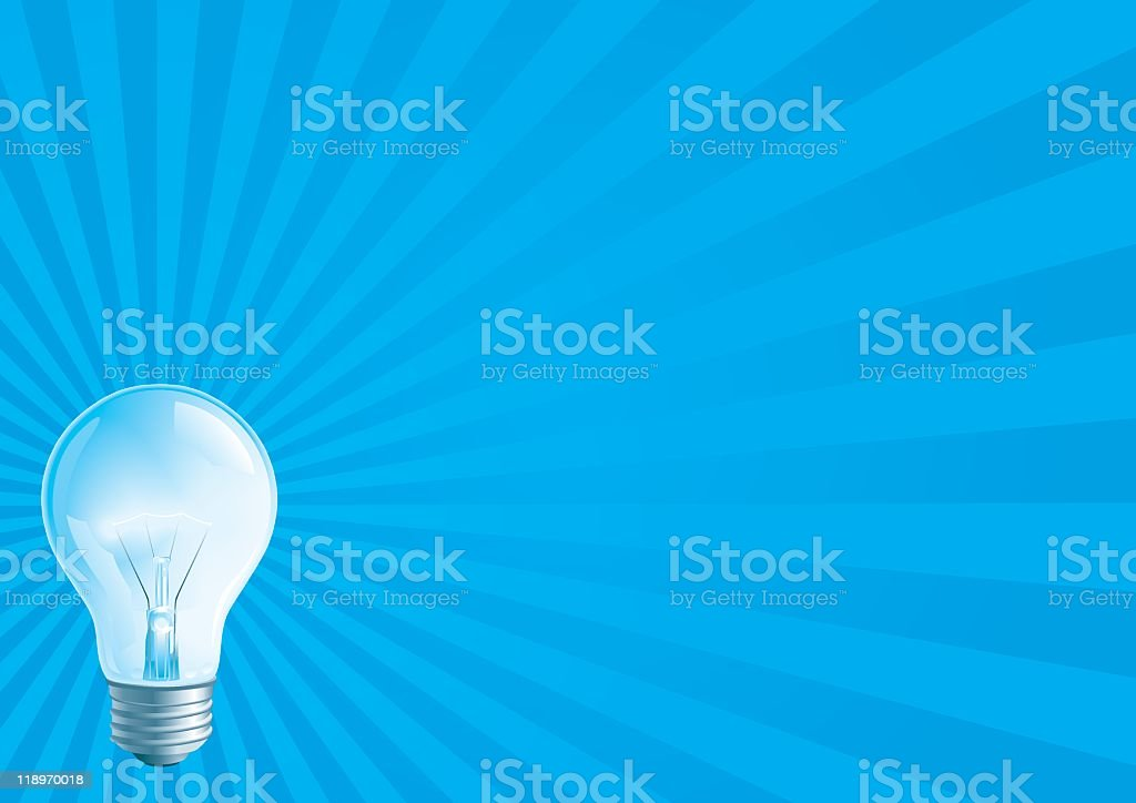 Electric light royalty-free electric light stock vector art & more images of blue
