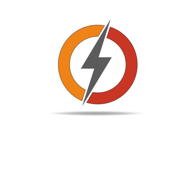 Electric logo, icon, symbol, design template vector art illustration