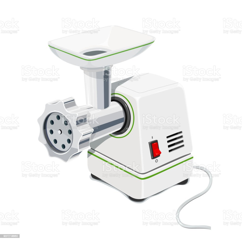 Electric Meat Grinder. Kitchen Equipment. Royalty Free Electric Meat Grinder  Kitchen Equipment Stock