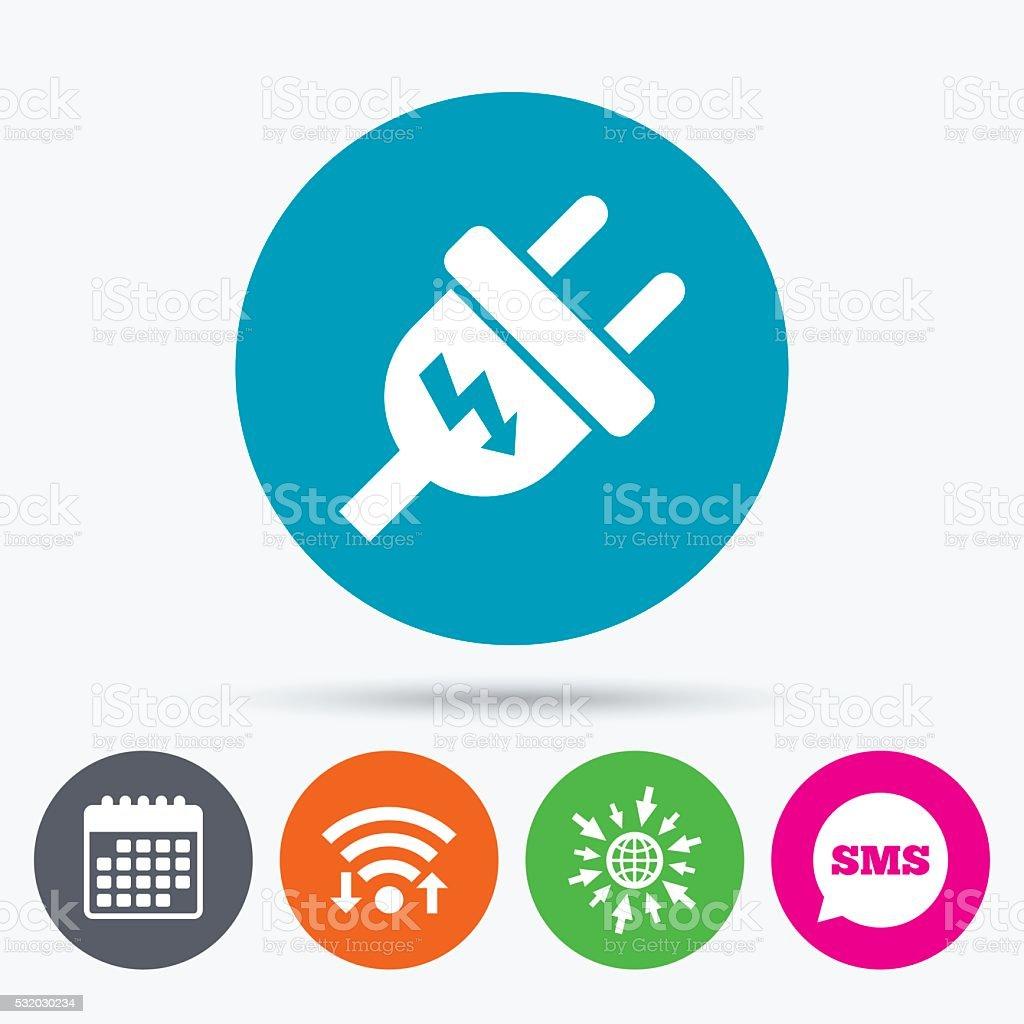 Plug Power Stock Quote: Icône De Signe De Prise électrique Symbole De Lénergie