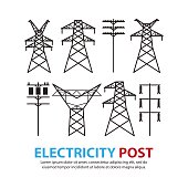Free download of Powerline Transformer vector graphics and