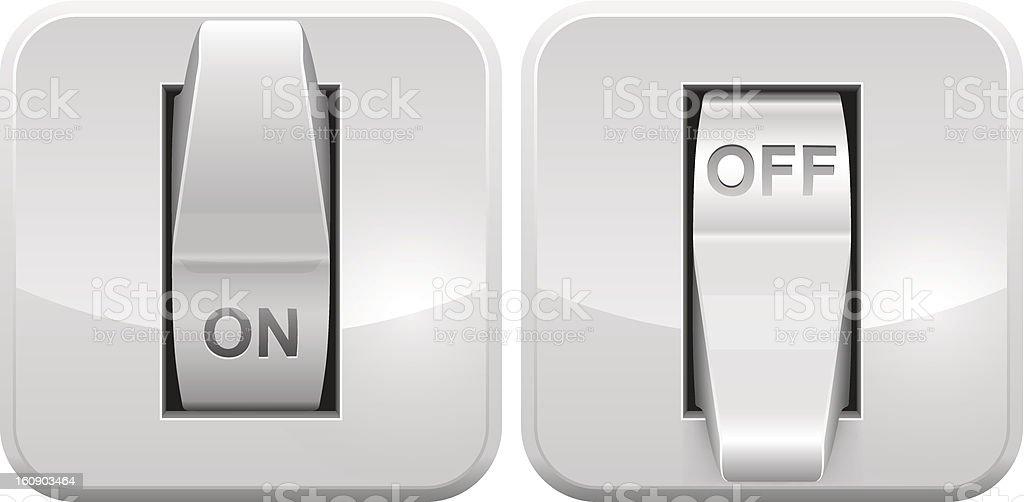 Elektrischer Schalter Symbol Stock Vektor Art und mehr Bilder von An ...