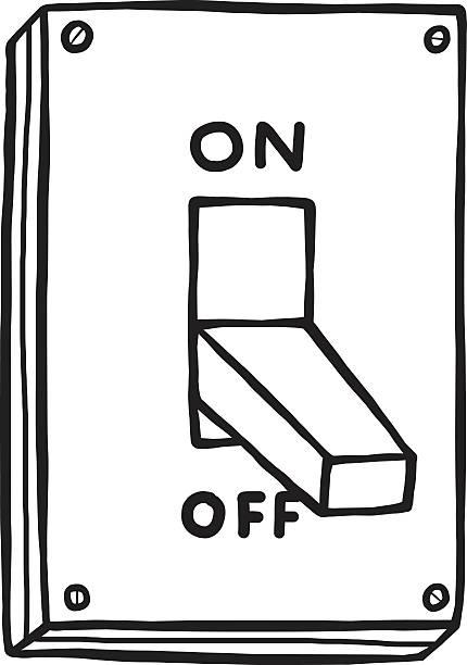 ilustraciones, imágenes clip art, dibujos animados e iconos de stock de electric interruptor - interruptor