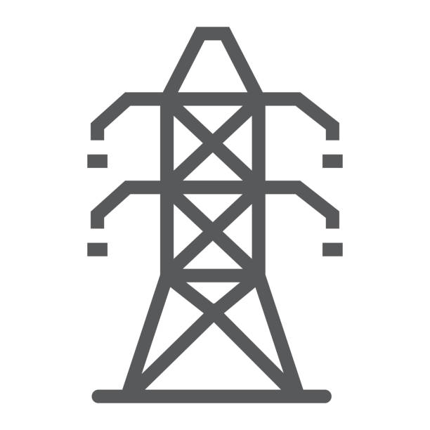 Best High Voltage Sign Illustrations, Royalty-Free Vector