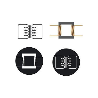 electric transformer icon vector illustration design