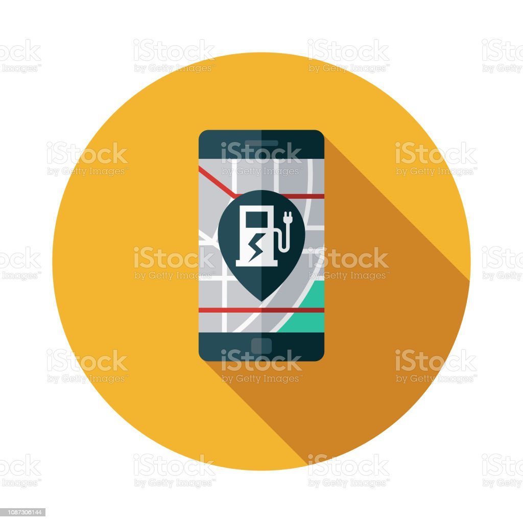 Electric Vehicle Charging Station Map Icon Stock Illustration Download Image Now Istock,Black And White Hd Wallpaper For Android Phone