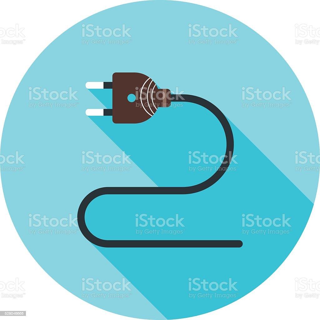 Elektrische Kabel Vektor Illustration 528046666   iStock