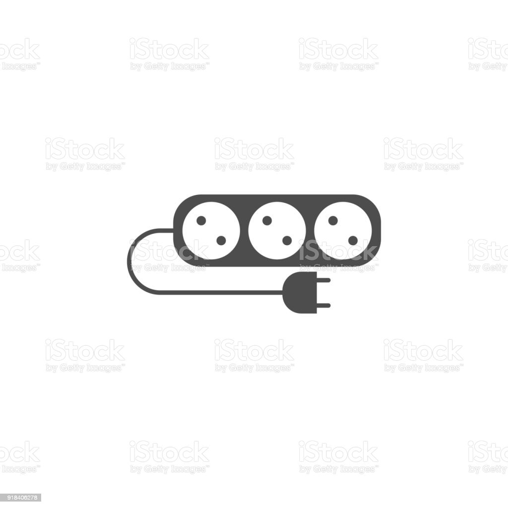 Electrical Extension Cord Icon Elements Of Web Icon Premium Quality ...