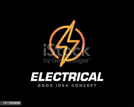 istock Electrical Logo Design Vector 1311659938