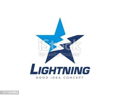 istock Electrical Logo Design Vector 1311659964