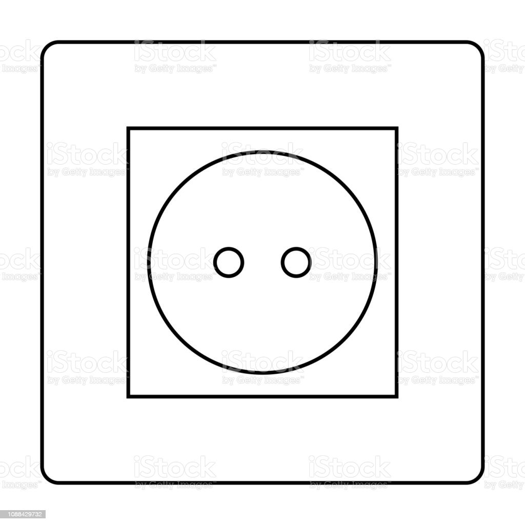 Electrical Outlet Icon Simple Flat Style Symbol Vector ... on electrical transformer symbol, electrical lighting symbol, electrical cabinet symbol, electrical light symbol, electrical socket symbol, electrical ground symbol, electrical panel symbol, electrical float switch symbol, electrical wall switch symbol, electrical motor symbol, electrical power symbol, electrical fan symbol, electrical conduit symbol, electrical outlet symbol, electrical cap symbol, electrical fuse symbol, electrical plug symbol, antenna electrical symbol, electrical circuit breaker symbol, electrical switches symbol,