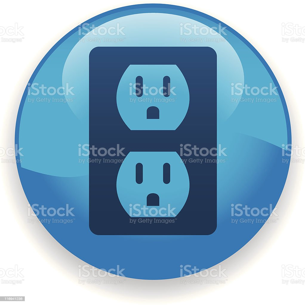 Electrical Outlet royalty-free electrical outlet stock vector art & more images of blue