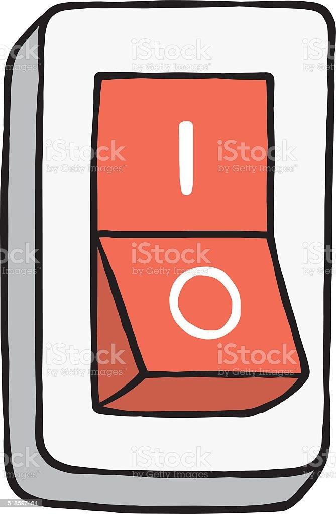 Elektrische Schalter Stock Vektor Art und mehr Bilder von Ausrüstung ...