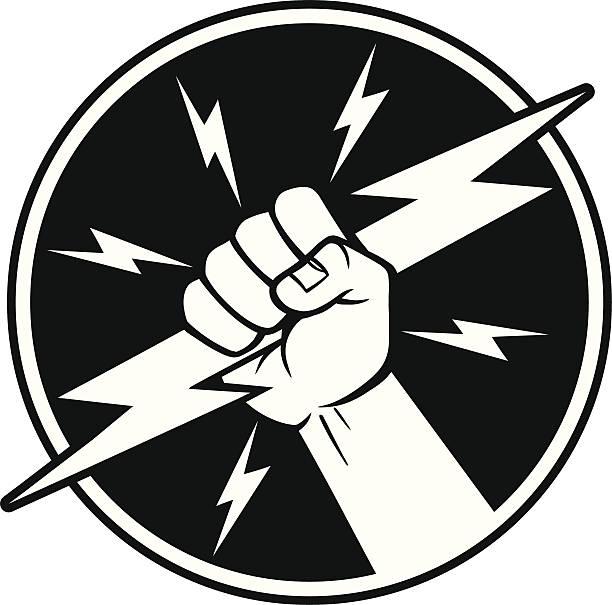 ilustrações, clipart, desenhos animados e ícones de eletricista símbolo - eletricista