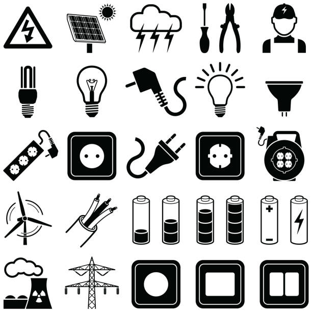 Best Electric Plug Illustrations, Royalty-Free Vector