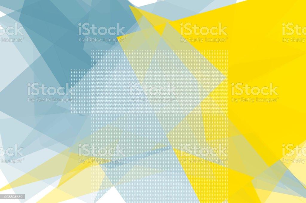 Electricity Vector Polygon Design Pattern Horizontal vector art illustration