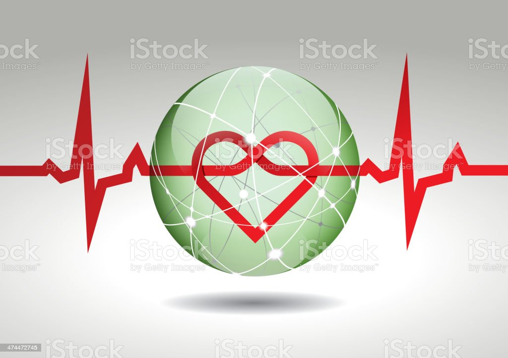 Electrocardiogram royalty-free electrocardiogram stock vector art & more images of analyzing