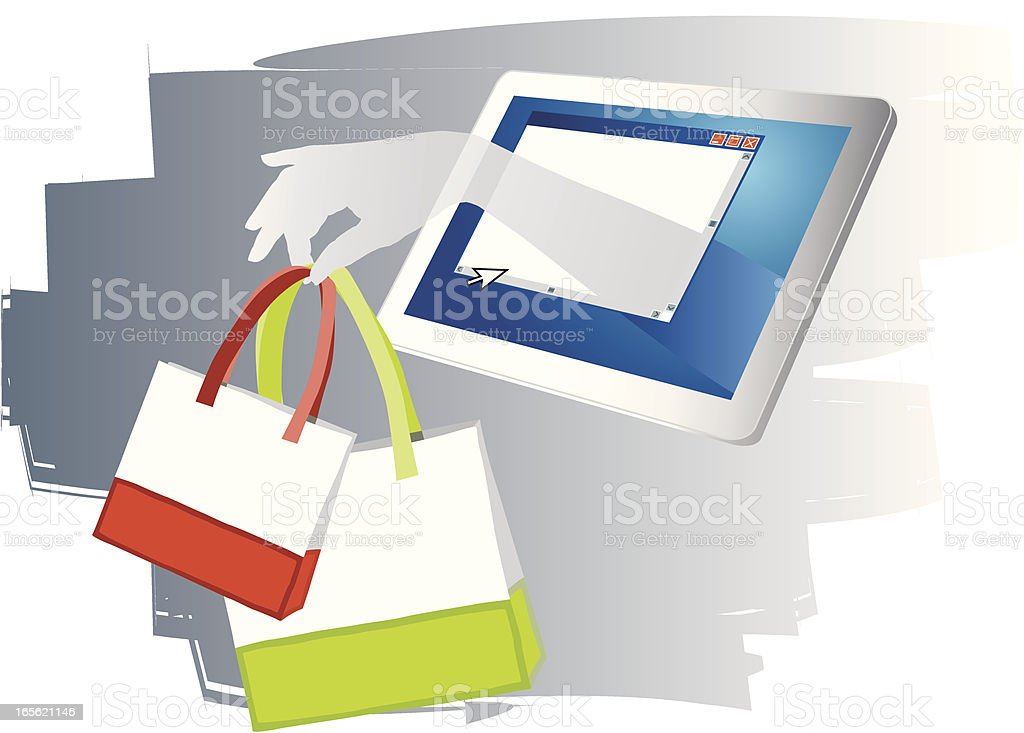 Electronic Commerce royalty-free electronic commerce stock vector art & more images of abstract
