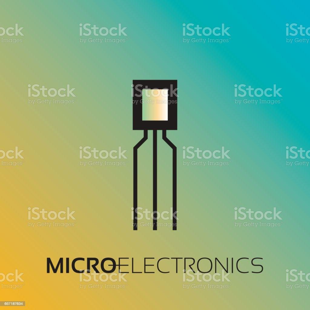 Fein Namen Und Symbole Für Elektronische Komponenten Zeitgenössisch ...