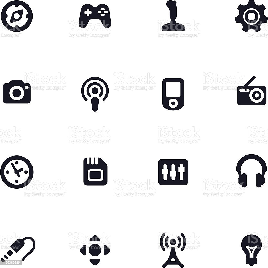 electronic devices royalty-free stock vector art