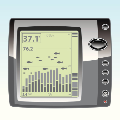 Electronic Fish Finder with LCD Display