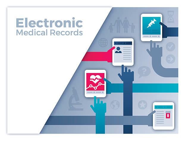 電子カルテ - エレクトロニクス産業点のイラスト素材/クリップアート素材/マンガ素材/アイコン素材