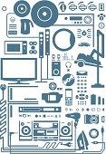 electronic shapes