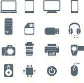 Electronics and Hardware - icons