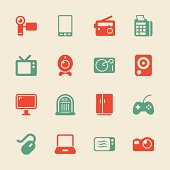 Electronics Icons - Color Series | EPS10