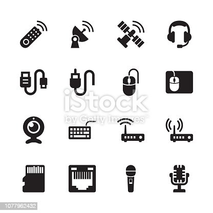Devices - Electronics & Technology Icons - Set 4