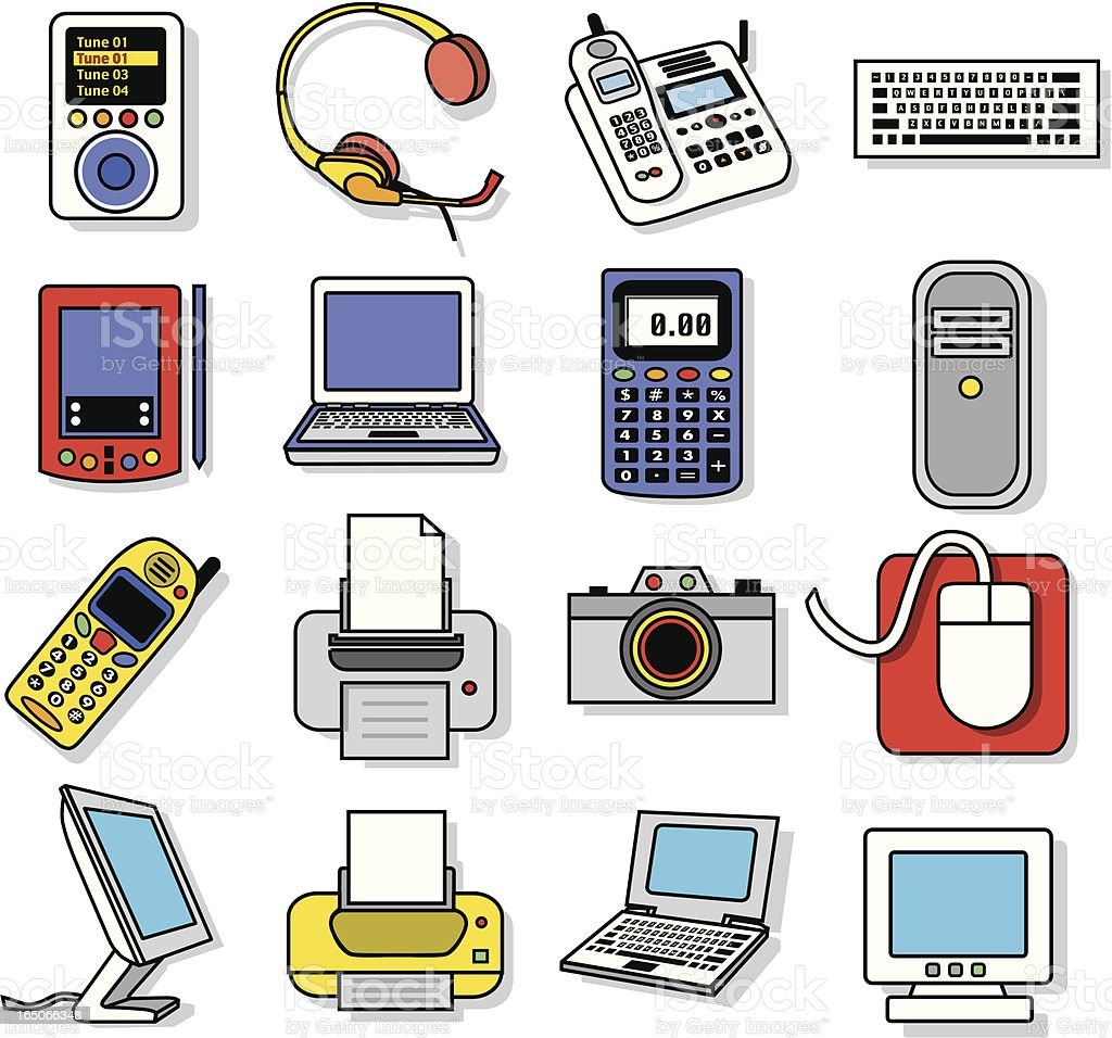 electronics royalty-free electronics stock vector art & more images of audio electronics
