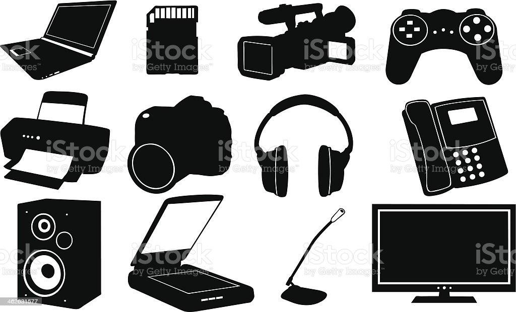 electronics royalty-free stock vector art