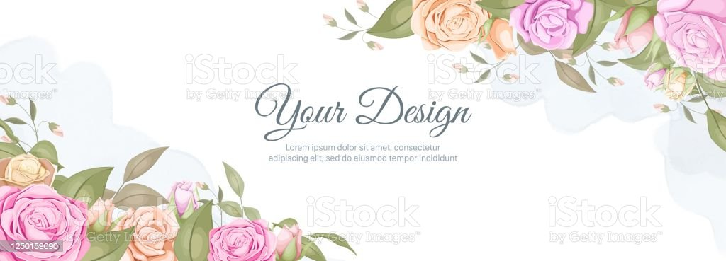 Elegance Wedding Banner Background Promotion And Social Media Stock Illustration Download Image Now Istock
