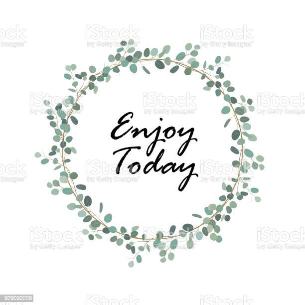 Elegant and cute wreath with silver dollar eucalyptus healing herbs vector id929090226?b=1&k=6&m=929090226&s=612x612&h=k9zlc4ggjj4gtb037inshuiirmukp2vp5drw4 uk7ng=