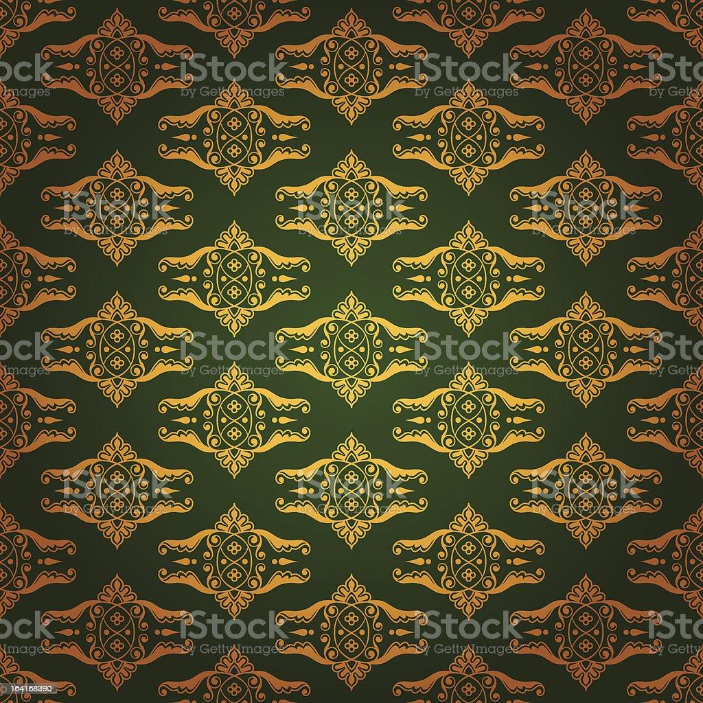 Elegant background made of golden pattern royalty-free elegant background made of golden pattern stock vector art & more images of antique
