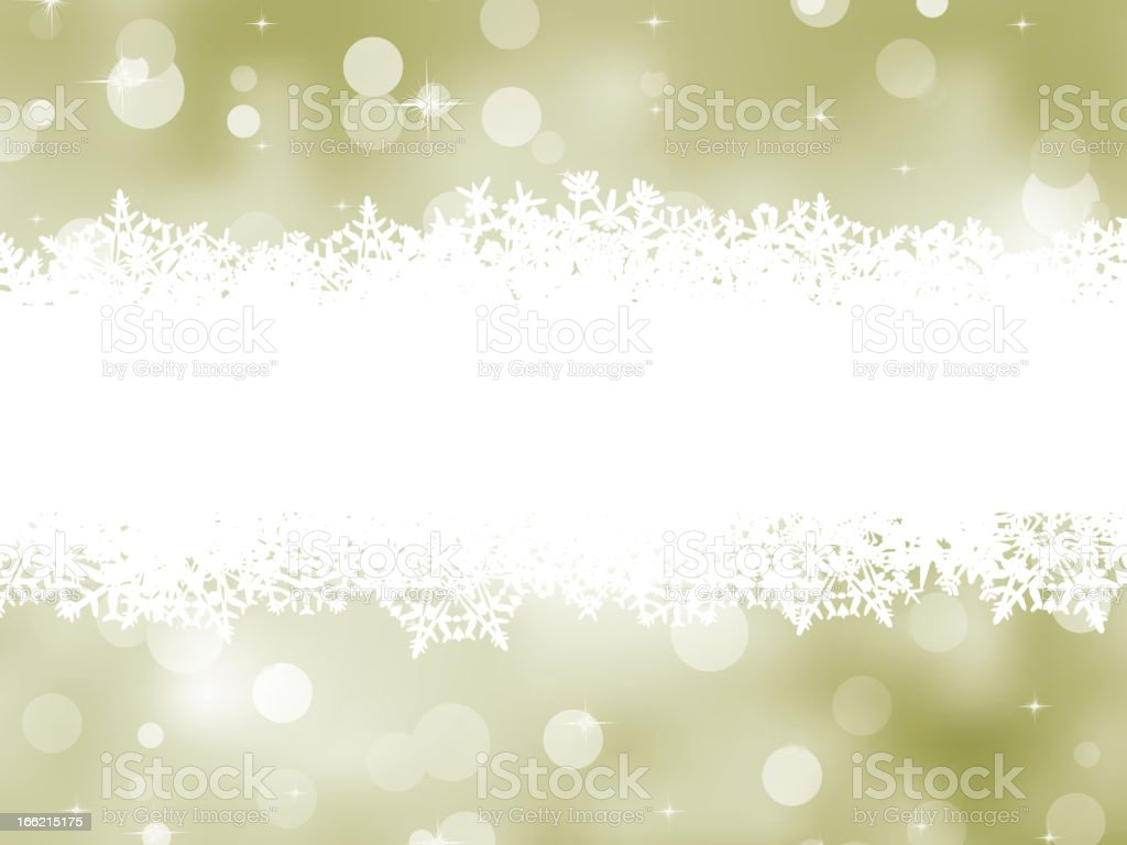 Elegant background with snowflakes. EPS 8 royalty-free stock vector art