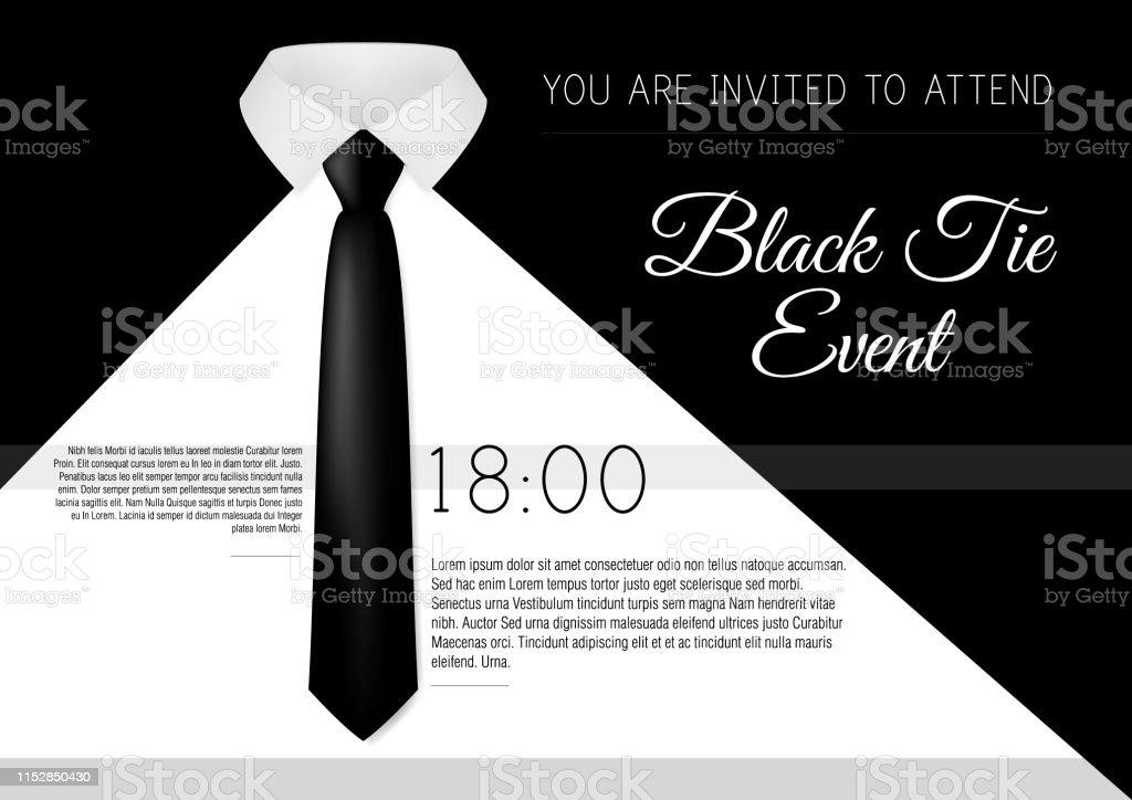 Ilustración de A4 Elegante Plantilla De Invitación De Evento
