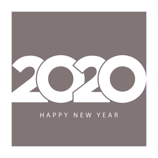 Elegant business calendar template 2020 happy new year Elegant business calendar template 2020 happy new year. Vector illustration. 2020 stock illustrations