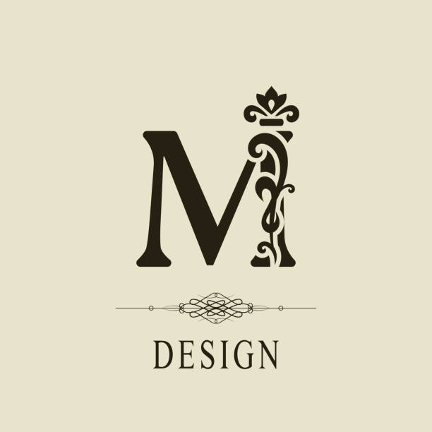 Letter M Tattoo Designs Illustrations, Royalty-Free Vector ...