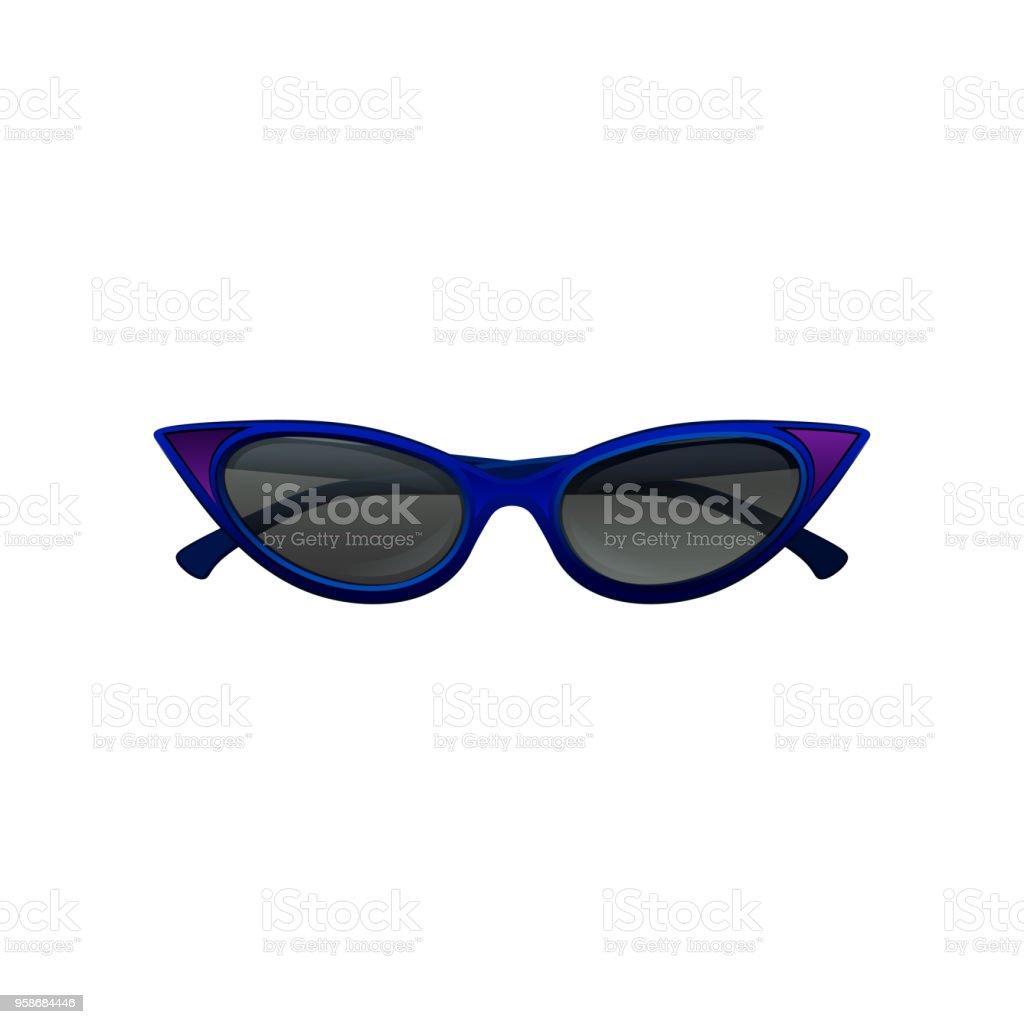 Avec Eye Noir Verres Soleil Cat Cadre Lunettes Élégantes De Et Bleu w0POnX8k
